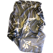 """Liz Claiborne 32"""" Sq Polyester Chiffon Floral Scarf"""