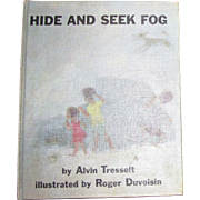 1965, Hide And Seek Fog by Alvin Tresselt, HC