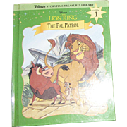 The Lion King : The Pal Patrol Vol. 1 by Disney Staff (Hardcover) Like New