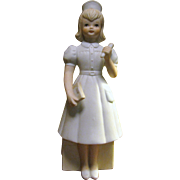 Sweet Lefton Nurse Figurine, 1987 The Christopher Collection #06051