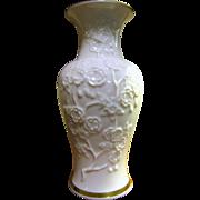Lenox Ming Blossom Vase w/ Gold Trim