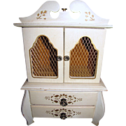 "Perfect 13"" Musical Doll French Style Armoire"