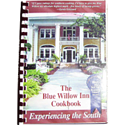 Blue Willow Inn Cookbook: Experiencing the South by Louis Van Dyke, Spiral Bound, Like New
