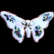 """2"""" Fired Enamel Butterfly Pin"""