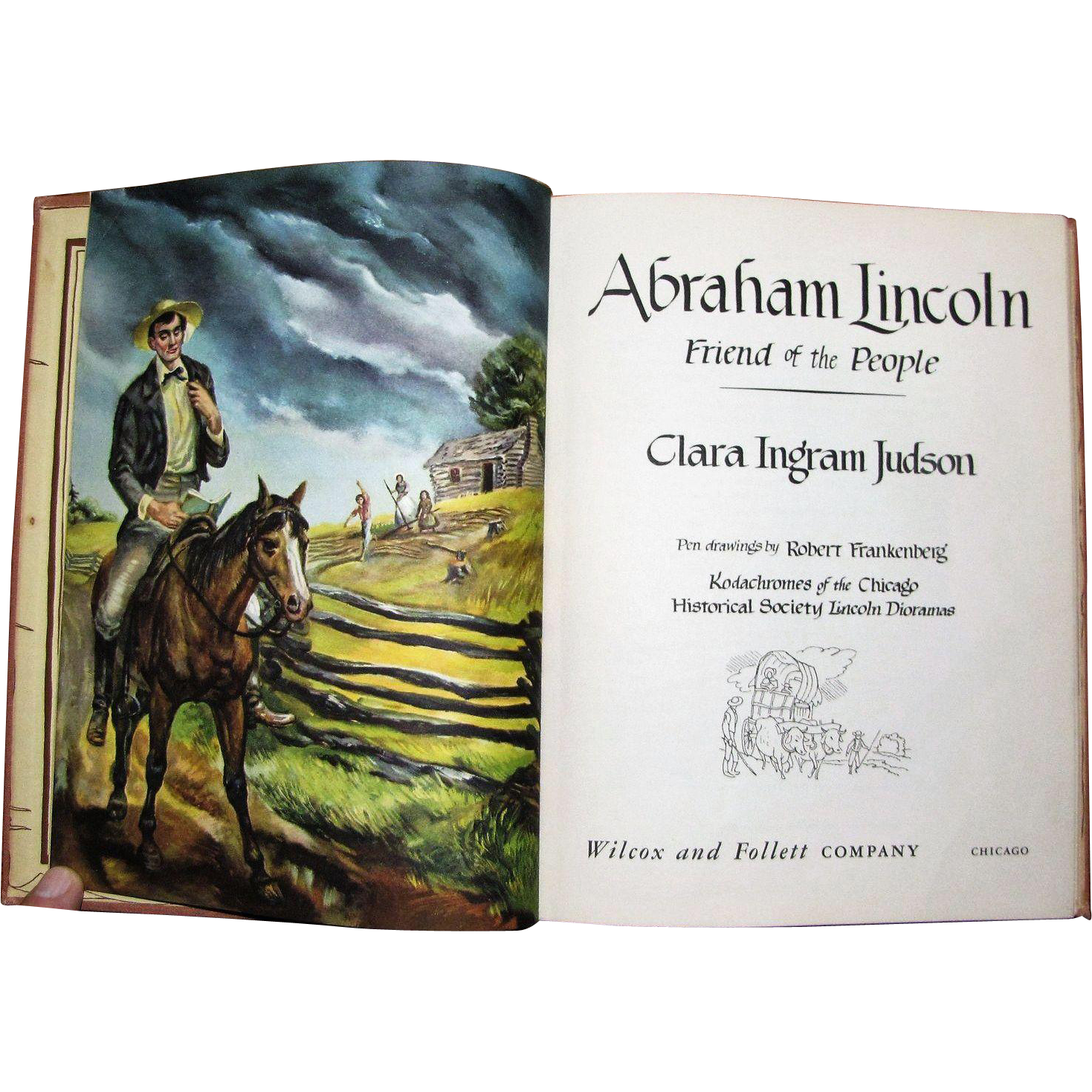Abe Lincoln Books: Abraham Lincoln, Friend Of The People By Clara Ingram