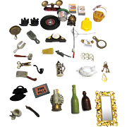 35 New Old Stock Doll House Pieces, Many Hard to Find (No 1)
