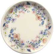 Wedgwood Angela Pattern Floral China Trinket Tray