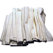 "Twenty Six 18"" Cotton Twill Restaurant Napkins"