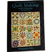 Harris, The Standard Book of Quilt Making and Collecting by Marguerite Ickis (Dover Publications, 1959) SC, 482 Illustrations
