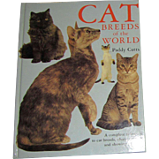 Cat Breeds of the World by Paddy Cutts, HC