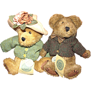 Charming Boyds Bear's Mr & Mrs Trumbull
