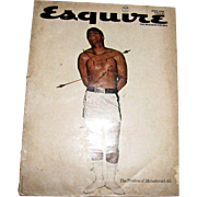 Vintage Esquire Magazine April 1968 - The Passion of Muhammad Ali
