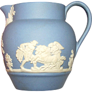 Mini Wedgwood Blue Jasperware Pitcher