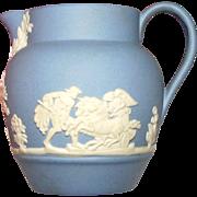 Mini Wedgwood Blue Jasperware Pitcher