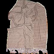 "Luxurious 66"" Reversable Italian Wool Scarf by Caterina de Medici"