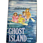 Ghost Island by Carolyn Lane (1985, Hardcover) Weekly Reader Mystery
