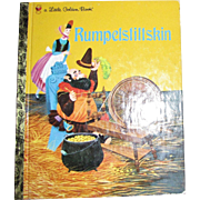 RUMPELSTILTSKI N ~ A Grimms' Fairy Tale ~ Children's Little Golden Book 1991
