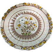 "Older Copeland Spode Buttercup 7 1/4"" Salad or Side Plate"