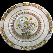 """Older Copeland Spode Buttercup 7 1/4"""" Salad or Side Plate"""