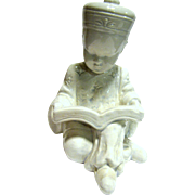 Blanc de Chine Figurine of a Small Chinese Scholar