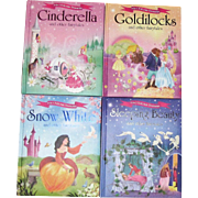 4 Igloo Books: Goldilocks, Sleeping Beauty, Snow White, Cinderella, HC (12 stories) Like New
