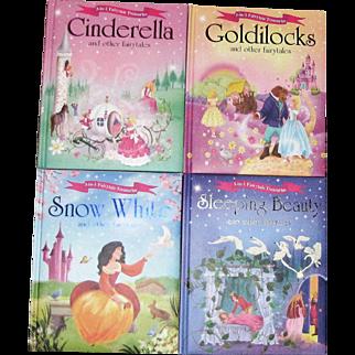 4 Igloo Books: Goldilocks, Sleeping Beauty, Snow White, Cinderella, HC (12 stories) Like New