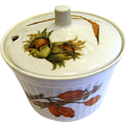 "Royal Worcester ""Wild Harvest"" Sugar Basin, Hard to Find!"