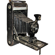1915, No. 1A Autographic Kodak Jr. Folding Camera with Case