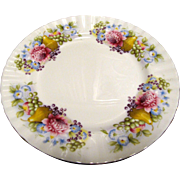 "6 Royal Albert 8"" Plates w/ Pears, Grapes & Dahlias"