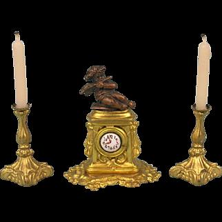 Erhard & Söhne - A most wonderful Louis Seize clock!