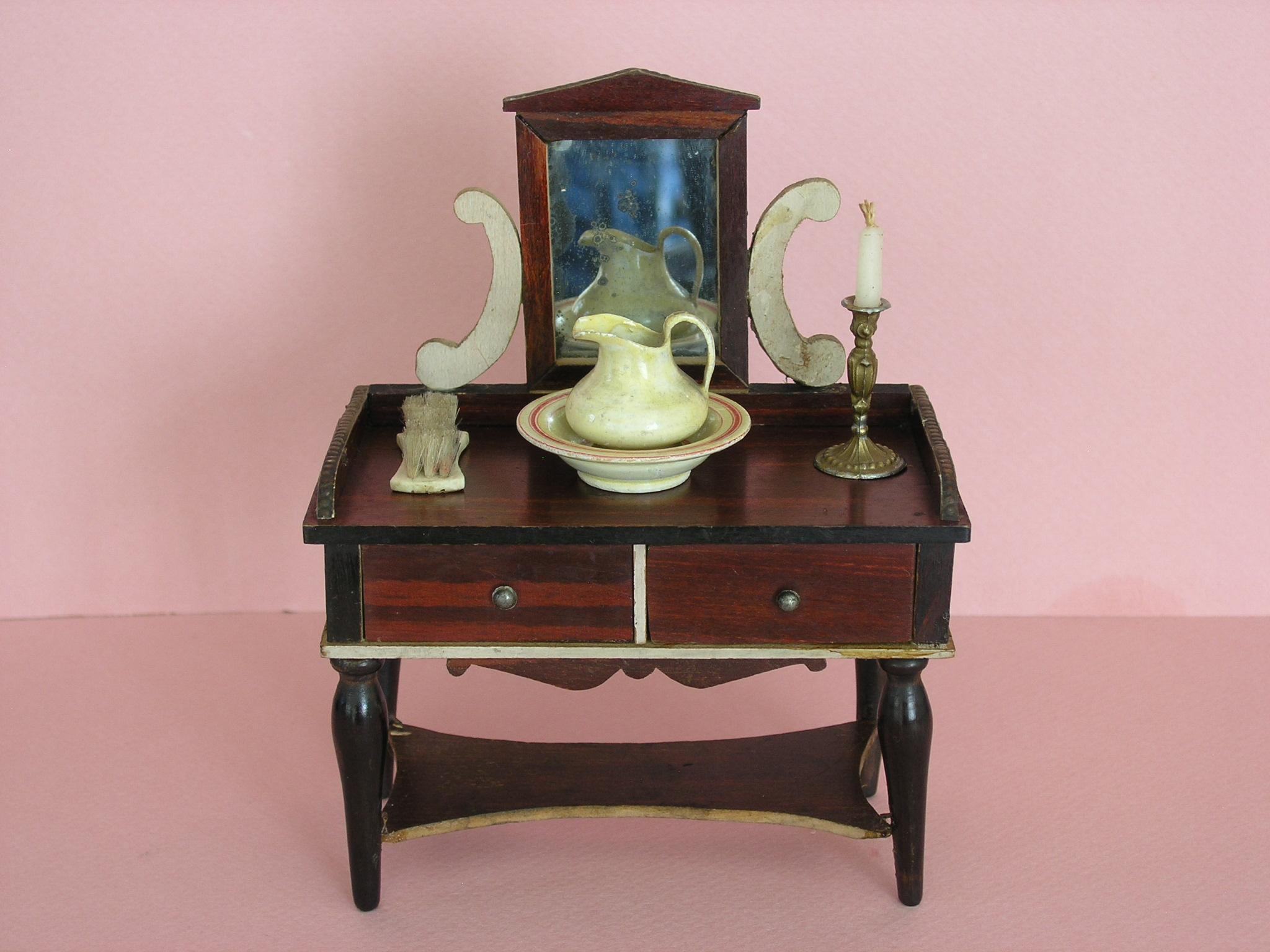 Early biedermeier dressing table made by kestner ca 1850 for Made dressing table