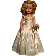 "14"" Margaret Bride -- Madame Alexander doll"