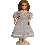 "18"" SFBJ Paris Size 6 French Bisque Doll"