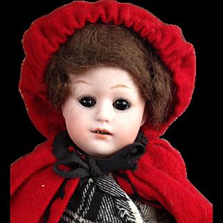 Unusual model - Heubach Little Red Riding Hood