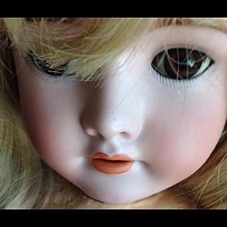 "29"" Beautiful German Bisque Girl."