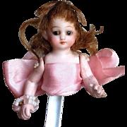Simon Halbig Half Doll - So Unusual!  Sewing Collectible