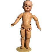 """German composition doll body for 9-1/2"""" doll"""