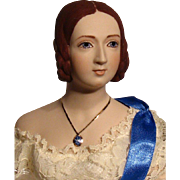 Queen Victoria from The Virginia Atelier--UFDC souvenir doll---With Crown accessory