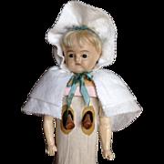 RARE Mechanical Motschman type Doll