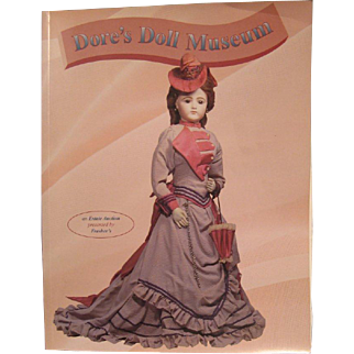 "Two Frasher's auction catalogs---""Dore's Doll Museum"" and ""From the Shore Before"""