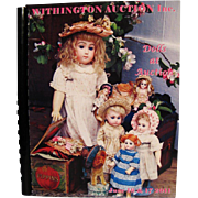 Two Withington Auction Catalogs--June 26-17, 2011 and October 20-21, 2011