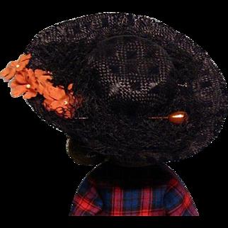 """Vintage Hat for Cissette or other 10"""" HHF"""