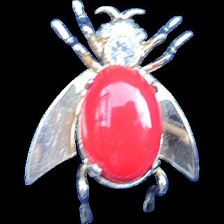 Austrian Bumble Bee Pin