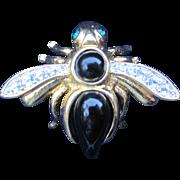 Joan Rivers Bumble Bee Pin