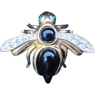 Joan Rivers Bumble Bee Pin