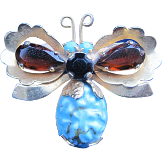 Austrian Butterfly Pin