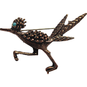 Copper Road Runner Pin