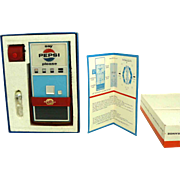 Rare Pepsi Vending Machine Transistor Radio, The Beatles Radio 1960s