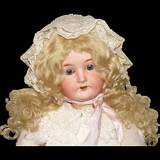 """Adorable Antique German 24"""" Karl Hartmann Bisque Doll"""