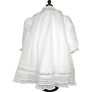 Beautiful Antique Baby Dress for Larger German or French Doll